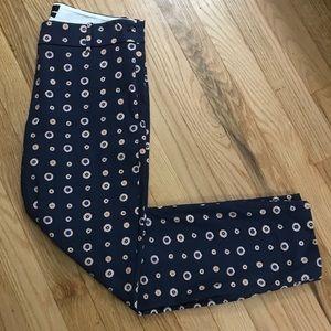 J. Crew Minnie Pants Navy Size 2